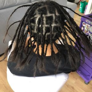 London dreads creation after