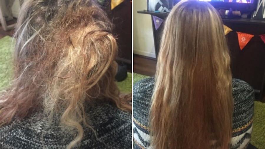 matted hair detangling London UK