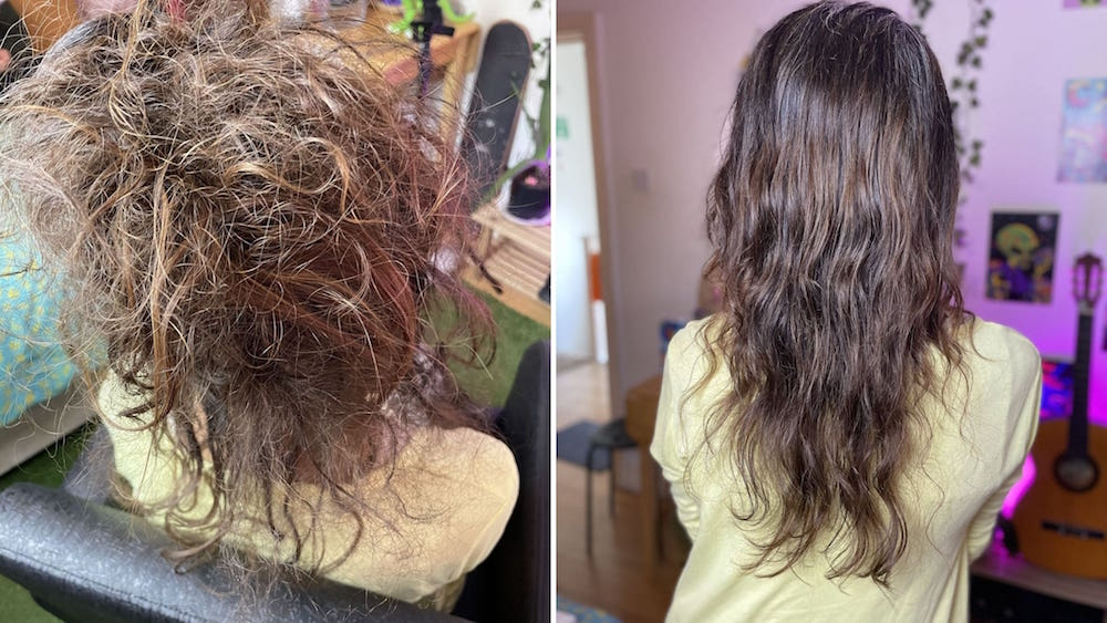 London matted hair detangling